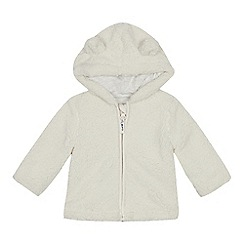 Mantaray - Babies' cream borg jacket