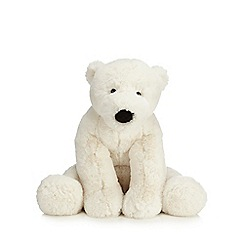Jellycat - Large cream 'Perry' polar bear toy