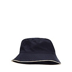 bluezoo - 2 Pack Boys' Navy and Natural Sun Hats