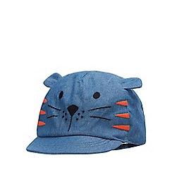 bluezoo - Baby Boys' Blue Tiger Cap