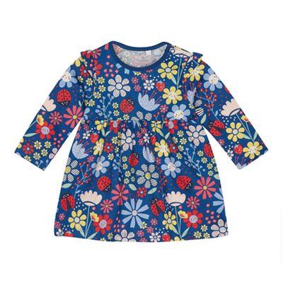 b73893b801bb bluezoo Baby Girls  Multicoloured Floral Print Dress