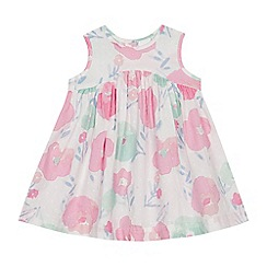 bluezoo - Baby Girls' White Floral Dress