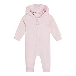 bluezoo - Baby Girls' Pink Rabbit Onesie