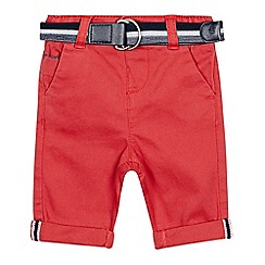 J by Jasper Conran - Baby Boys' Red Chino Trousers