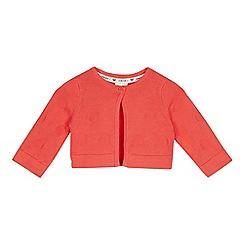 J by Jasper Conran - Girls' Orange Spotted Cardigan
