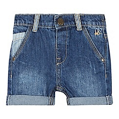 Mantaray - Babies Blue Denim Shorts