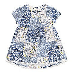 Mantaray - Baby Girls' Multicoloured Patchwork Dress