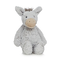 Jellycat - Grey 'Bashful' donkey soft toy