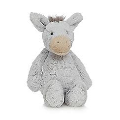 Jellycat - Grey 'Bashful' donkey soft toy