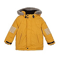 Mantaray - Boys' yellow parka