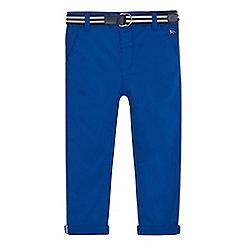 J by Jasper Conran - Boys' blue slim chinos with belt