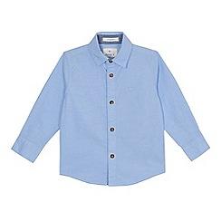 J by Jasper Conran - Boys' blue long sleeve oxford shirt