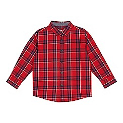223020124303: Boys red checked shirt