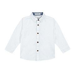 J by Jasper Conran - Boys' white stretch Oxford shirt