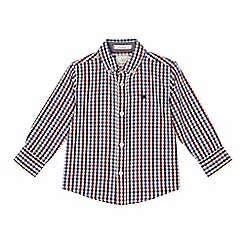 J by Jasper Conran - Boys' multi-coloured gingham print shirt