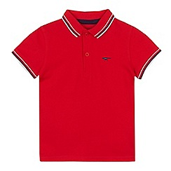 bluezoo - Boys' red tipped polo shirt