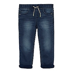 bluezoo - Boys' blue jersey lined jeans