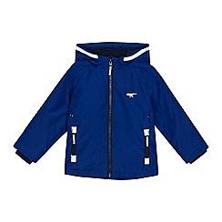 bluezoo - Boys' blue fleece lined jacket