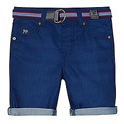 J by Jasper Conran - Boys' blue denim shorts