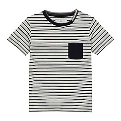 J by Jasper Conran - Boys' striped pocket t-shirt