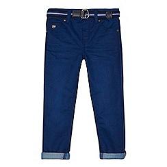 J by Jasper Conran - Boys' blue belted slim leg jeans