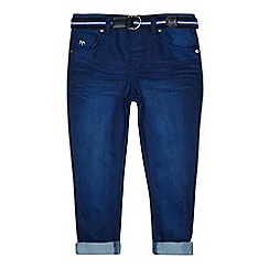 J by Jasper Conran - 'Boys' bright blue belted slim leg jeans