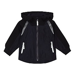 J by Jasper Conran - Boys' navy textured insert jacket