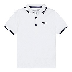 bluezoo - 'Boys' white polo shirt