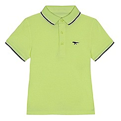 bluezoo - Boys' yellow tipped polo shirt