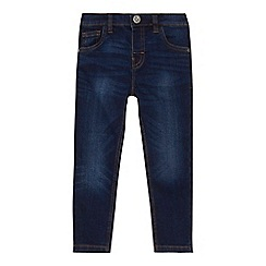 bluezoo - 'Boys' dark blue mid wash skinny jeans