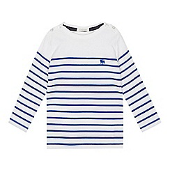 J by Jasper Conran - 'Boys' white striped long sleeve top