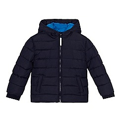 bluezoo - 'Boys' navy padded shower resistant jacket