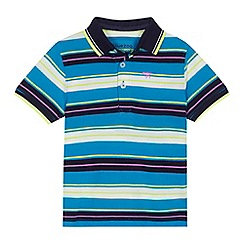 bluezoo - 'Boys' multi-coloured striped polo shirt