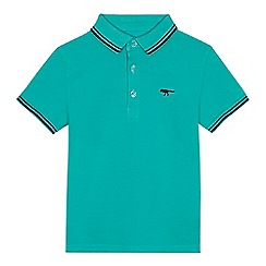 bluezoo - Boys' green tipped polo shirt
