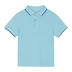 bluezoo - 'Boys' pale blue polo shirt