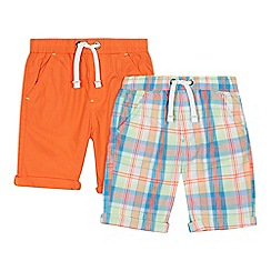 bluezoo - 'Pack of 2 boys' assorted checked shorts