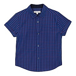 bluezoo - 'Boys' multi-coloured tonic checked shirt