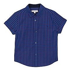 bluezoo - 'Boys' multi-coloured tonic checked shirt