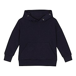 bluezoo - 'Boys' navy long sleeve hoodie