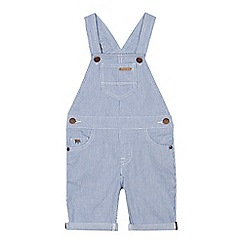 J by Jasper Conran - Boys' blue striped dungarees