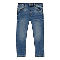 Mantaray - Boys' blue mid wash slim fit jeans