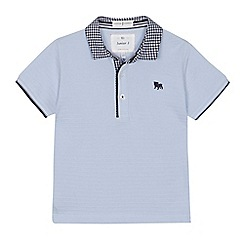 J by Jasper Conran - 'Boys' pale blue polo shirt