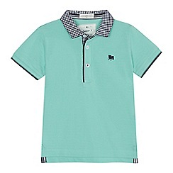 J by Jasper Conran - 'Boys' green polo shirt
