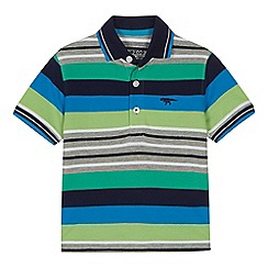 bluezoo - Boys' multi-coloured stripe print shirt