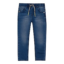 bluezoo - Boys' blue mid wash slim leg jeans