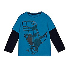 bluezoo - 'Boys' blue dinosaur t-shirt
