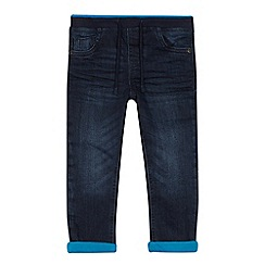 bluezoo - Boys' blue trimmed slim fit jeans