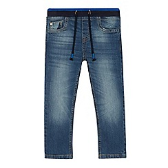 bluezoo - Boys' blue mid wash slim fit jeans