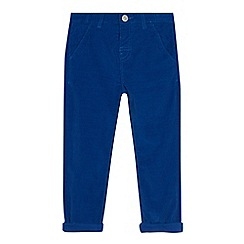 bluezoo - Boys' bright blue cord trousers