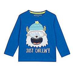 4c005b2203ca bluezoo - Boys  Blue Yeti Applique Top
